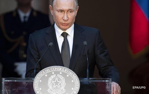 Російський президент вимагає зняти блокаду з непідконтрольного Києву Донбасу і відновити економічні відносини з