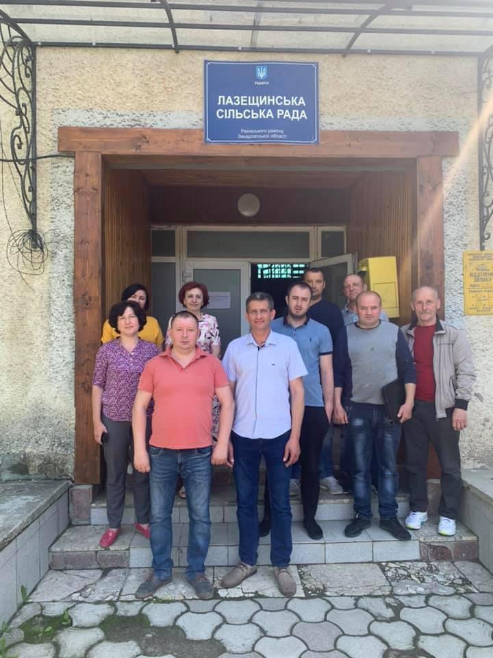 11 червня цього року у Лазещинській сільраді, що на Рахівщині, місцеві депутати й громадськість взяли участь у позачерговому засіданні сесії 7 скликання.
