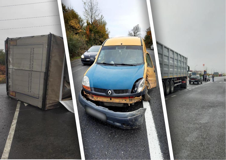 На Закарпатті майже одночасно та на близькій відстані трапилися три аварії.