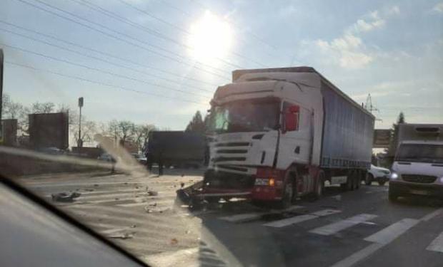 ДТП сталася напередодні на трасі Київ-Чоп на в'їзді в Мукачево