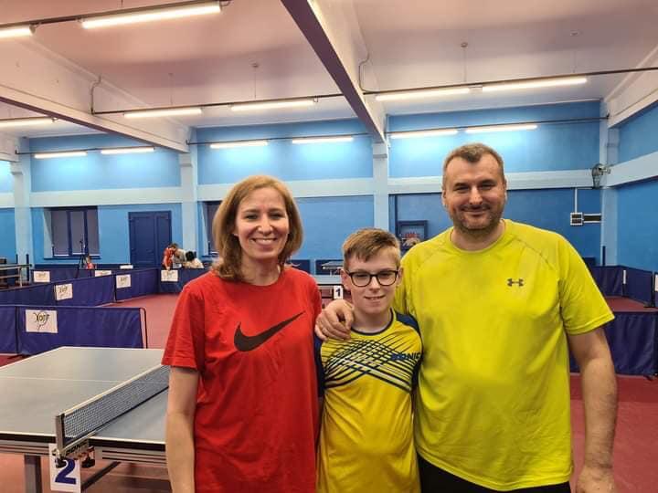 У Запоріжжі закінчився Чемпіонат України серед мінікадетів U-11 з настільного тенісу.