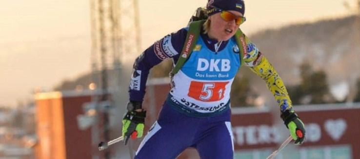 Анастасія Меркушина стала третьою.