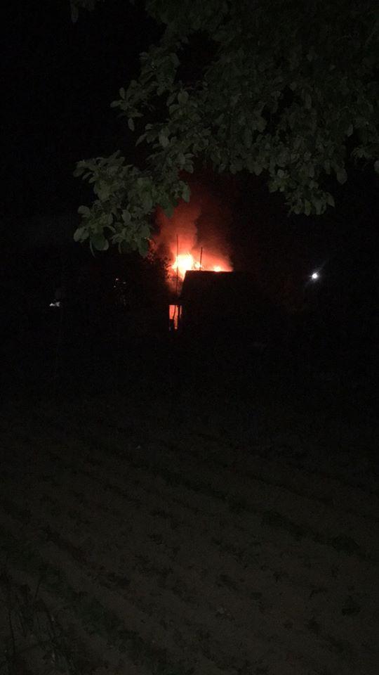 Пожежа сталася у с.Довге по вулиці Велика.