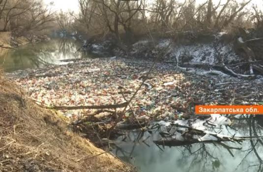 """""""Пластик, меблі, авто запчастини та туші мертвих тварин"""": річка Боржава захлинається від відходів (ВІДЕО)"""