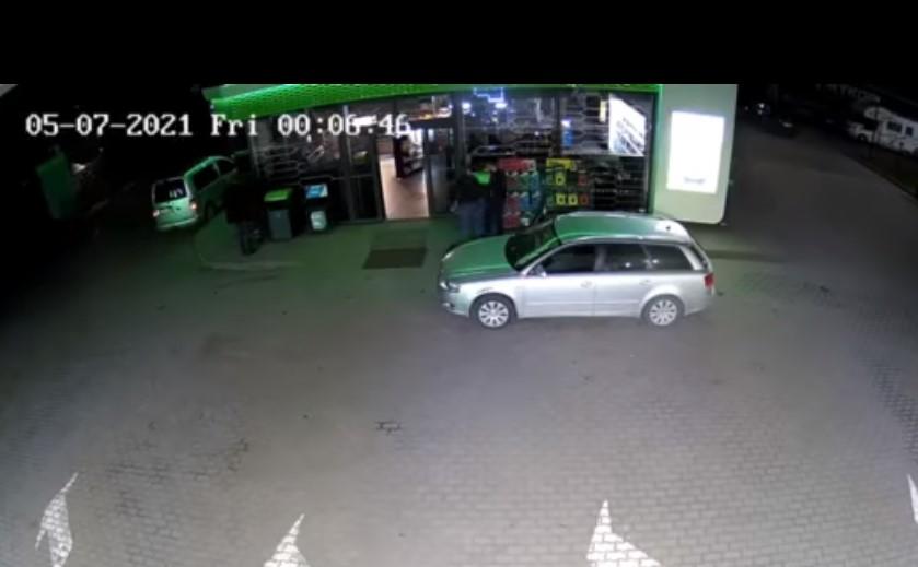 Вночі на АЗС у Солотвині начальник слідства та слідчий напали на дівчину.