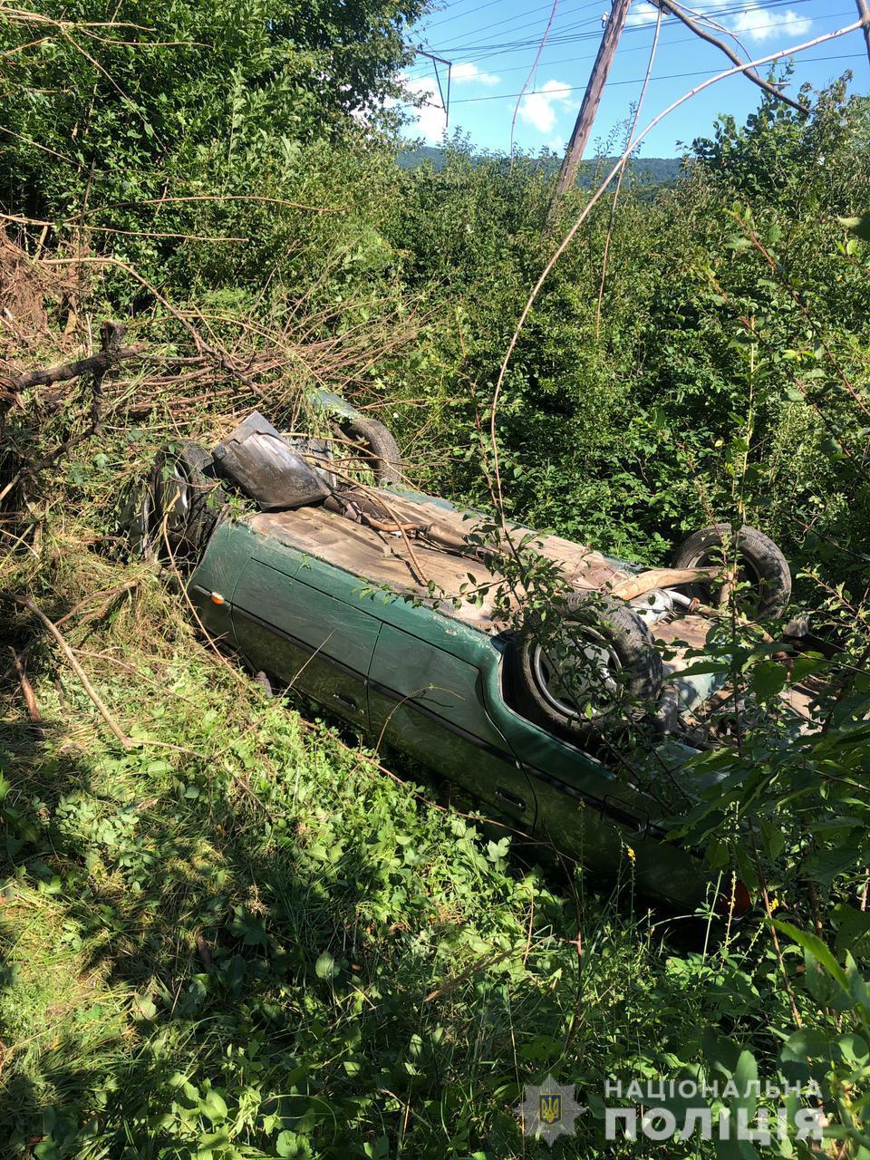 12 серпня до поліції надійшло повідомлення про смертельну аварію між селами Забрідь та Сіль неподалік Великого Березного.