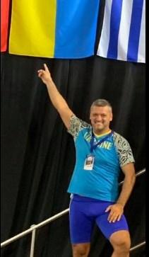 Михайло Гал переміг на Чемпіонаті світу з важкої атлетики серед майстрів у м.Монреаль (Канада).