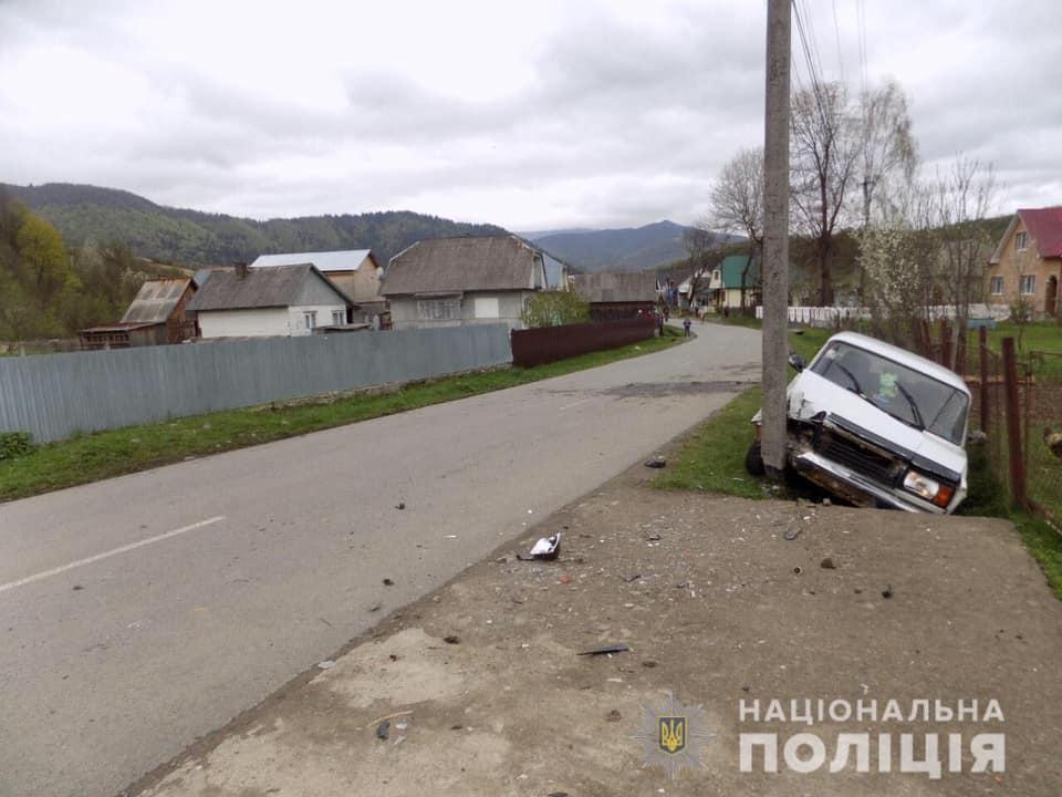 Дорожньо-транспортна пригода трапилася у селі Колочава Міжгірського району.