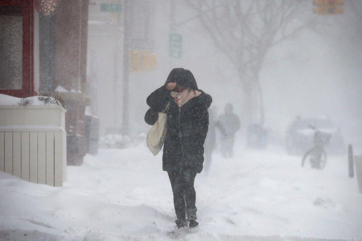 США потерпають від буревію та снігу: через негоду загинули щонайменше три людини