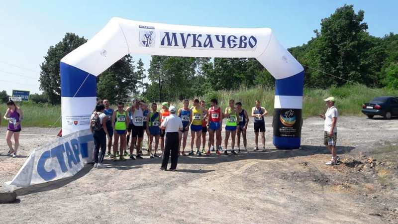 Близько 50 учасників з 12 регіонів змагалися 8-9 червня в Мукачеві на чемпіонаті України з гірського бігу (вгору-вниз).