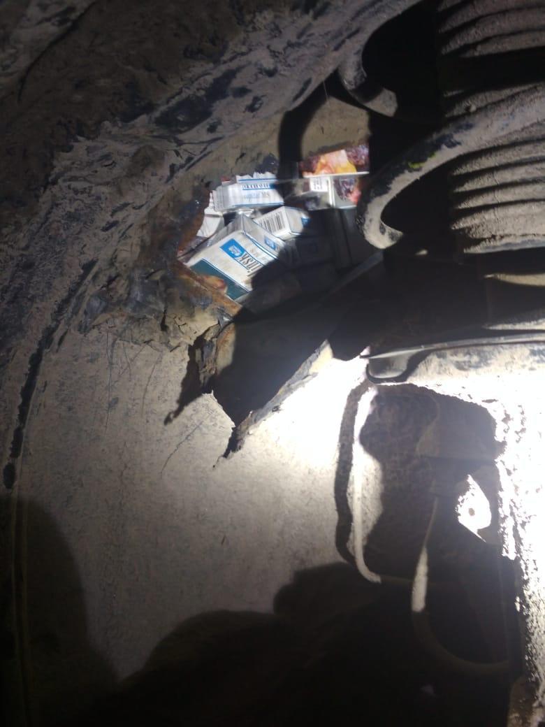 Сьогодні ввечері в пункті пропуску «Косино» через спробу потай провезти до Угорщини сигарети, 62-річний громадянин України втратив «Тойоту Авенсіс» 2004 року випуску.
