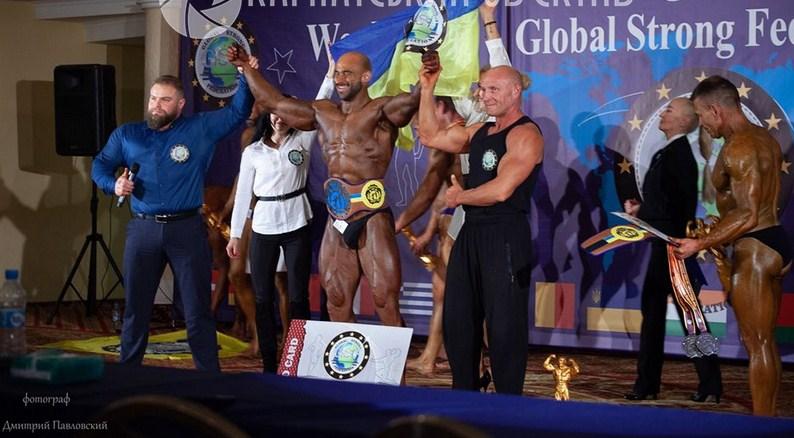 Хустянин Станіслав Бубненков став чемпіоном світу з бодібілдингу.