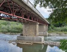 Аварійний міст через річку Тересву повторно обстежила комісія з області