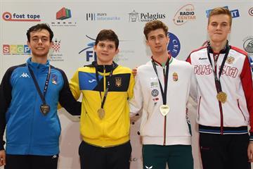 Один з найперспективніших фехтувальників Закарпаття переміг на юнацькому Чемпіонаті Європи.