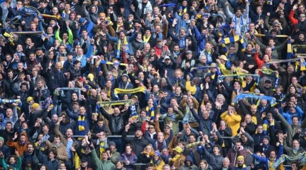 Українська асоціація футболу веде переговори з Міністерством охорони здоров'я, щоб пустити вболівальників на стадіони.
