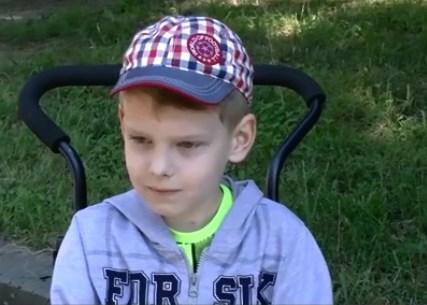 У життєрадісного хлопчика діагностували рідкісну хворобу.