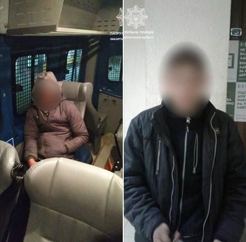 Першого правопорушника, ймовірно, причетного до злочину патрульні виявили сьогодні на вулиці Доманинській, близько 3-ї години ночі.