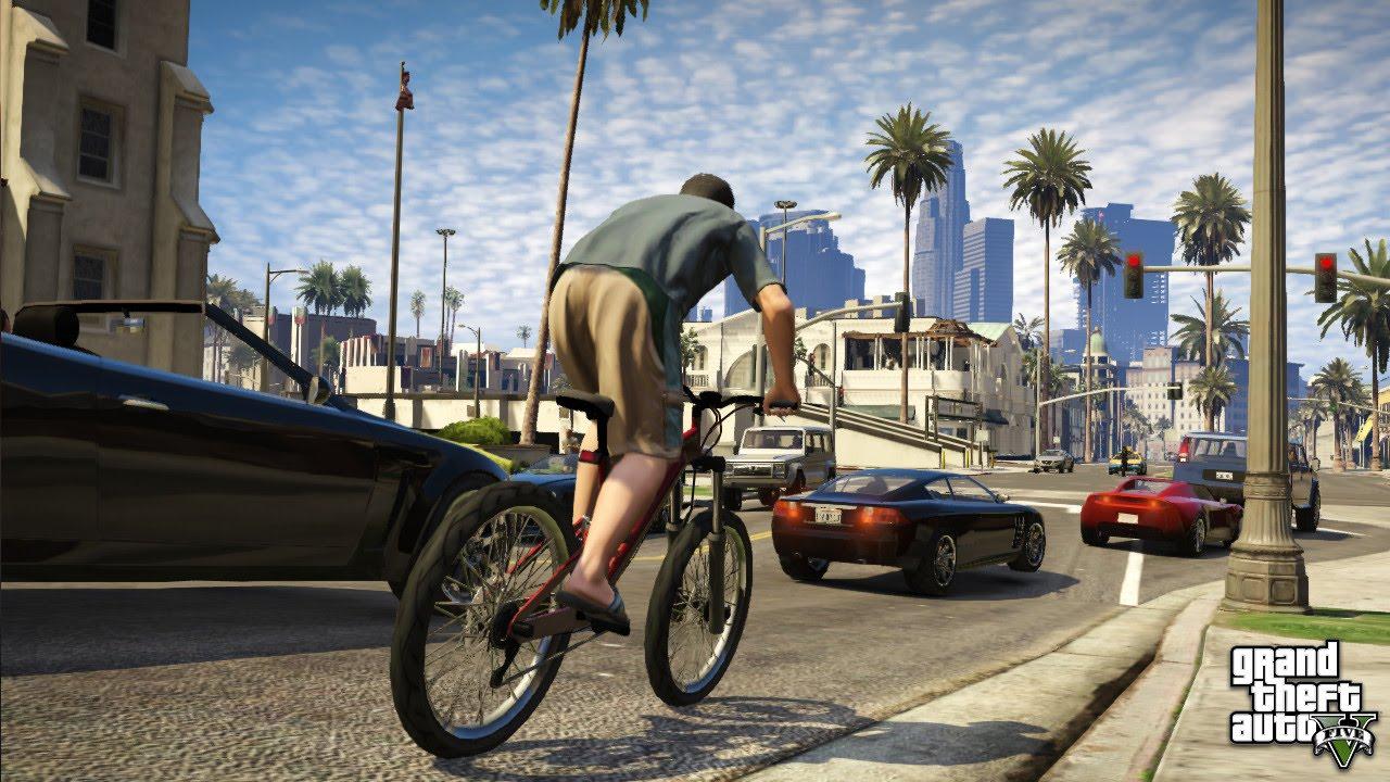 Поки новий мод дозволяє їздити на велосипеді тільки в режимі одиночної гри