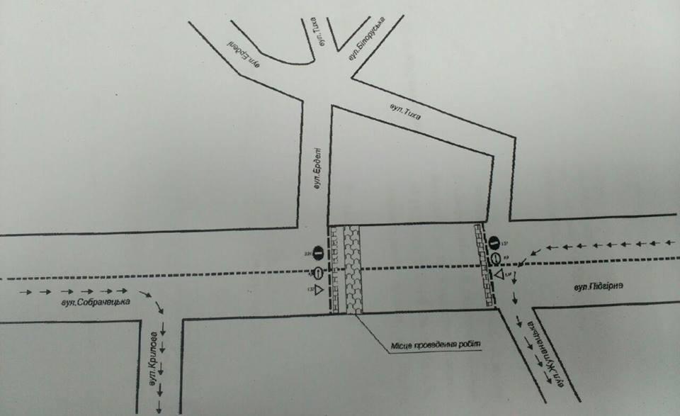 До уваги водіїв: в Ужгороді обмежать рух в центрі міста / СХЕМА