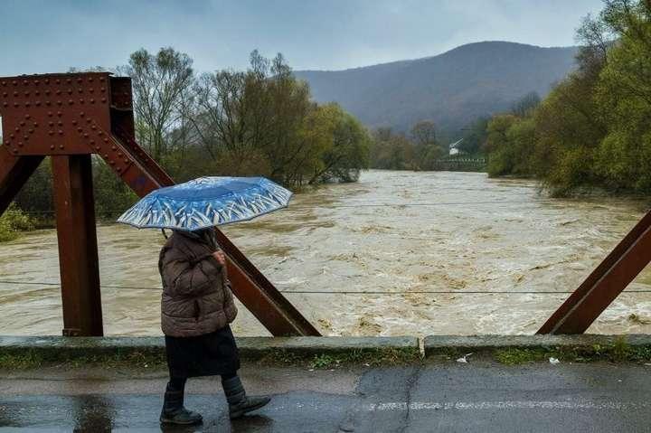 На Закарпатті сьогодні очікують підняття рівня річок на 1,5м.