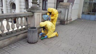 Небезпечну речовину виявили прямо на пероні львівського вокзалу.