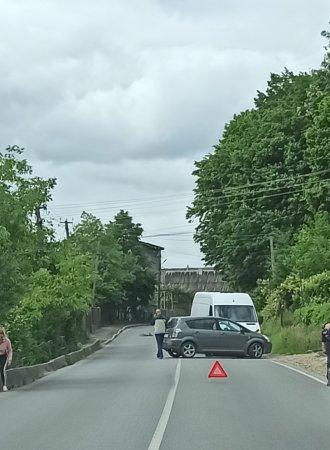 Аварія сталася в селі В, Копаня.