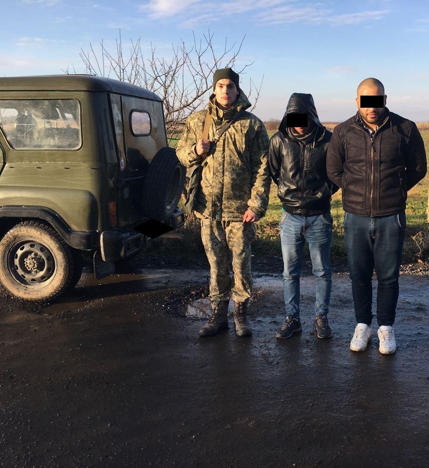 На Закарпатті прикордонники затримали двох палестинців