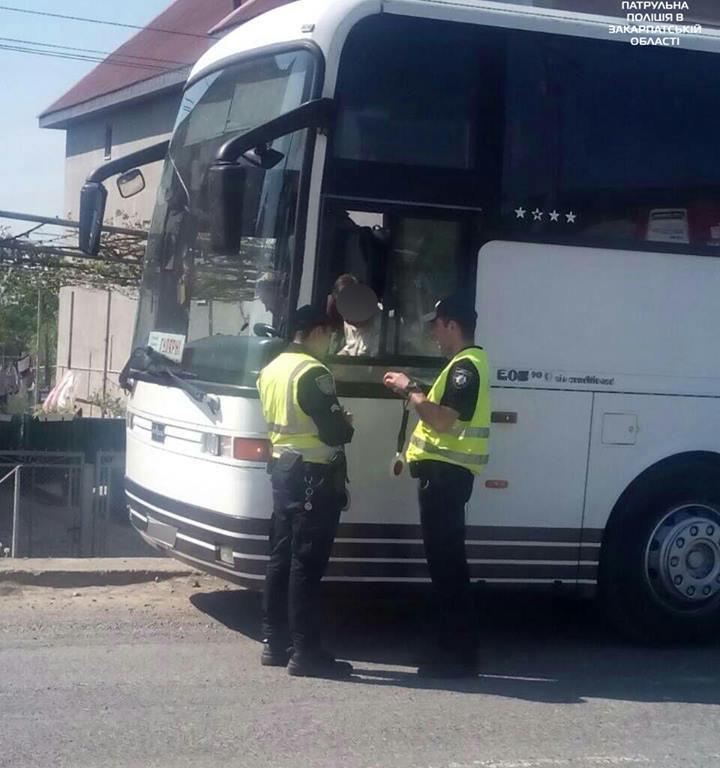 На Закарпатті виявлено 4 випадки перевезення пасажирів понад встановлену кількість
