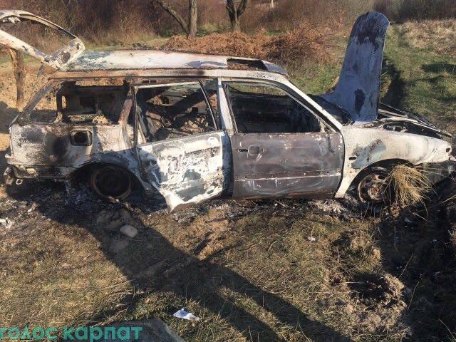 Знайдено автомобіль нападників, що розстріляли будинок екс-прокурора з гранатомета