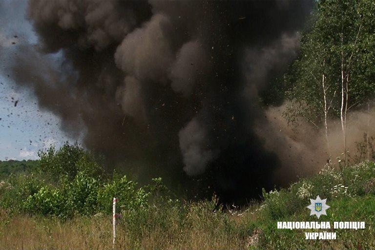 Дані ВНП були виявлені 10 липня туристом під час проходження туристичного маршруту біля с.Чорна Тиса.