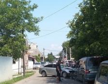 У дорожній аварії в Тячеві не розминулися чотири легковики