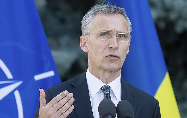 Генеральний секретар НАТО Єнс Столтенберг заявив, що позиція Угорщини щодо українського мовного закону не має бути перешкодою у співпраці Альянсу з Україною.