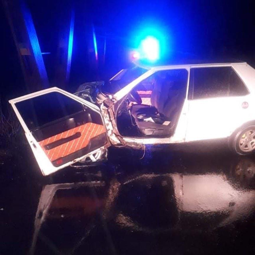 Аварія сталася на виїзді з міста в напрямку Королева.