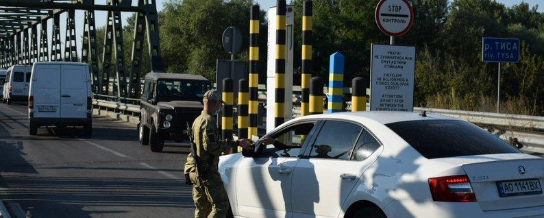 При в'їзді в Україну в МАПП «Тиса» спрацювала система радіаційного контролю «Янтар» по відношенню до вантажного транспортного засобу.