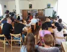 В Мукачеві організували зустріч з австрійським журналістом Штефаном Шохером (ФОТО)