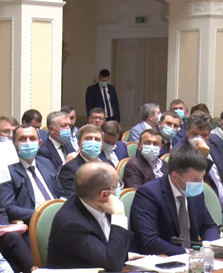 У роботі засідання взяв участь голова ОДА Олексій Петров.