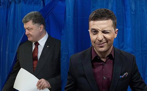 За кандидата у президенти і шоумена Володимира Зеленського у другому турі виборів готові проголосувати 72,2%  опитаних українців, які визначилися з вибором і підуть голосувати.