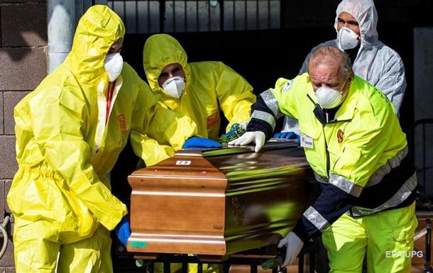 В Італії за останню добу померли 889 осіб, інфікованих коронавірусом COVID-19.