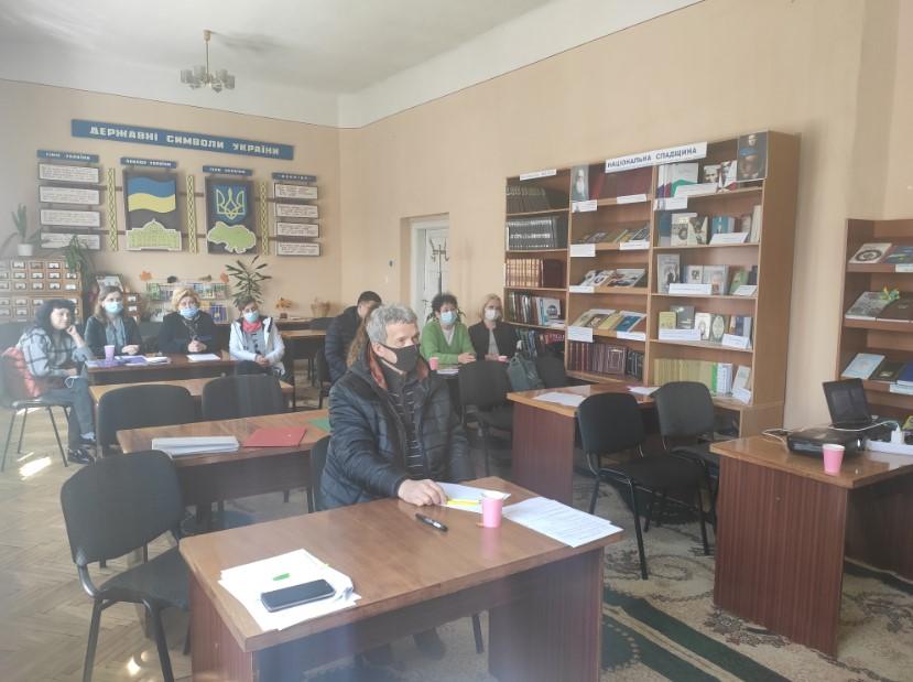 Участь в навчанні взяли громадські та благодійні організації Виноградівщини.