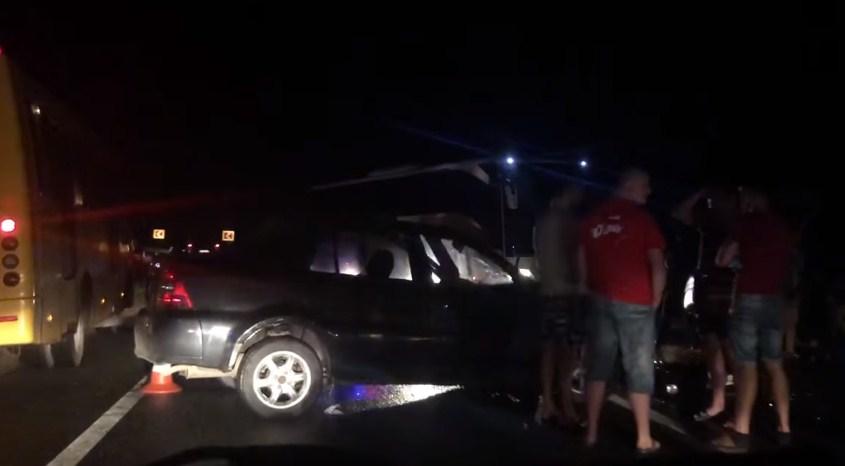 Вчора, 25 липня, близько 23.30 к.ч. на межі двох районів Закарпаття зіткнулися одразу три автівки.