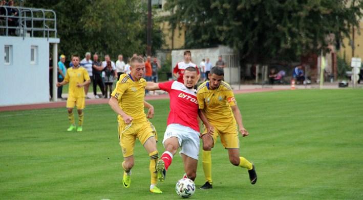 Вчора, 23 вересня, відбулися півфінальні матчі Кубка області з футболу 2020.