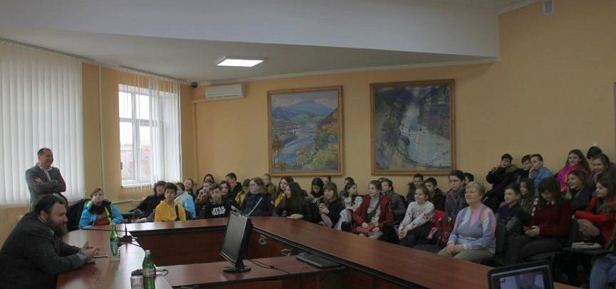 Школярі ЗОШ №5 міста Ужгород відвідали Басейнове управління водних ресурсів річки Тиси (БУВР Тиси) та Закарпатський гідрометеорологічний центр.