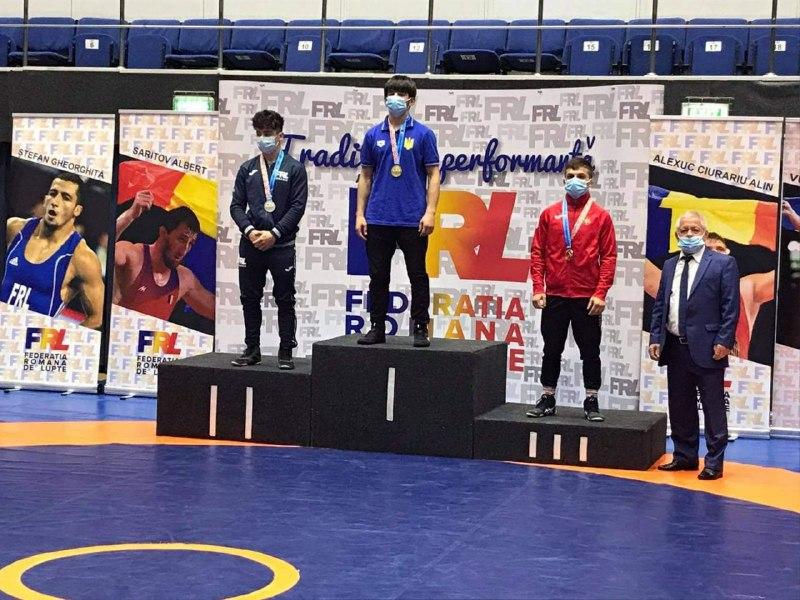 Закарпатський спортсмен здобув «золото» на міжнародному турнірі з греко-римської боротьби.