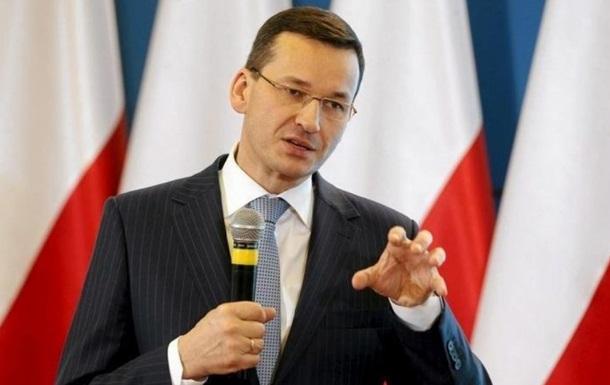 Прем'єр Польщі розкрив секрет зростання економіки.
