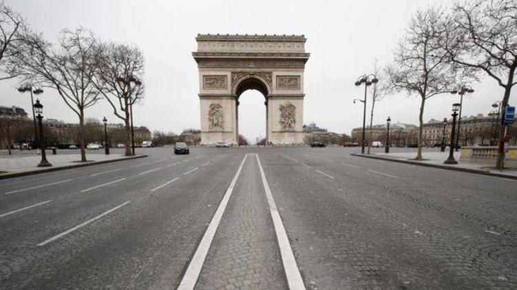 Вимерлі вулиці світових столиць виглядають як кадри з фільмів про апокаліпсис.