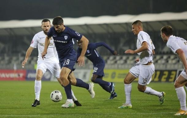 У сьомому турі чемпіонату України Колос вдома зіграв у результативну нічию з Минаєм (2:2).