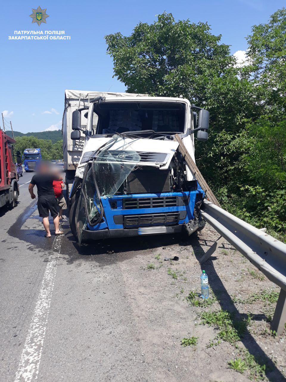 Автопригода сталася 13 червня, неподалік смт. Кольчино, Мукачівського району.
