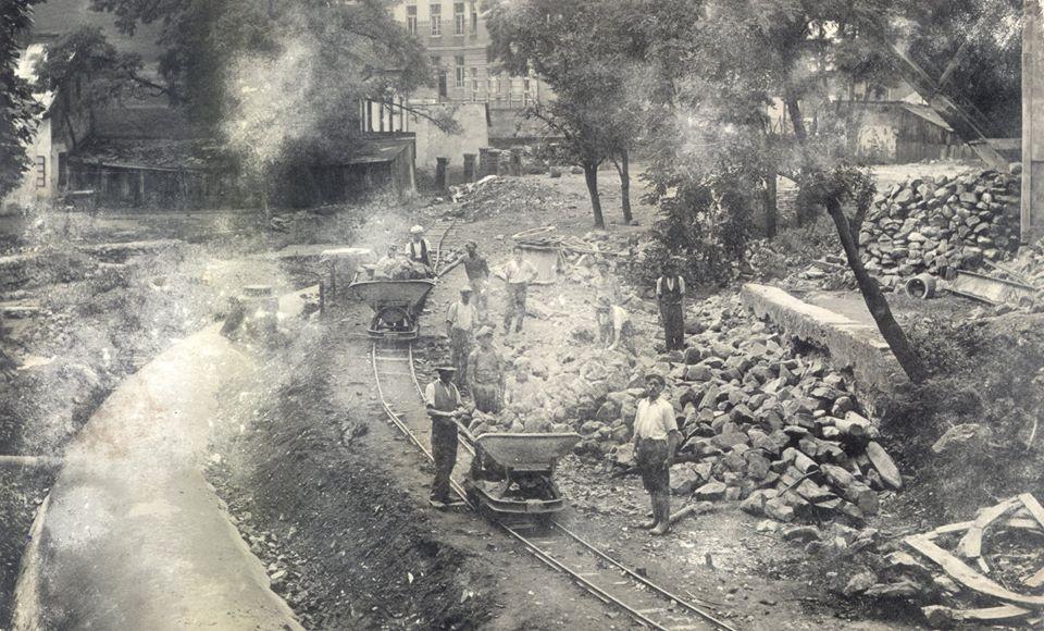 Як засипали Малий Уж в обласному центрі в 1936 році
