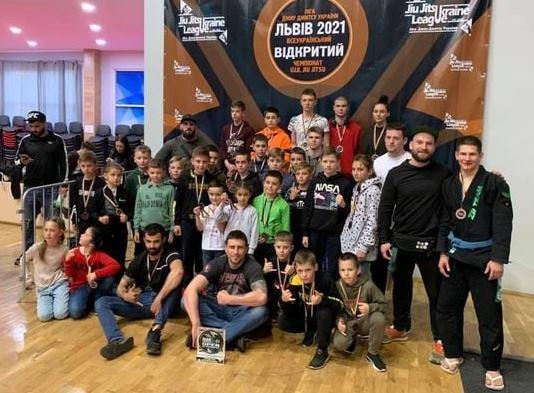 Минулого вікенду команда «ZR Team Uzhhorod» взяла участь у відкритому чемпіонаті Львова «Ліга джиу-джитсу України».