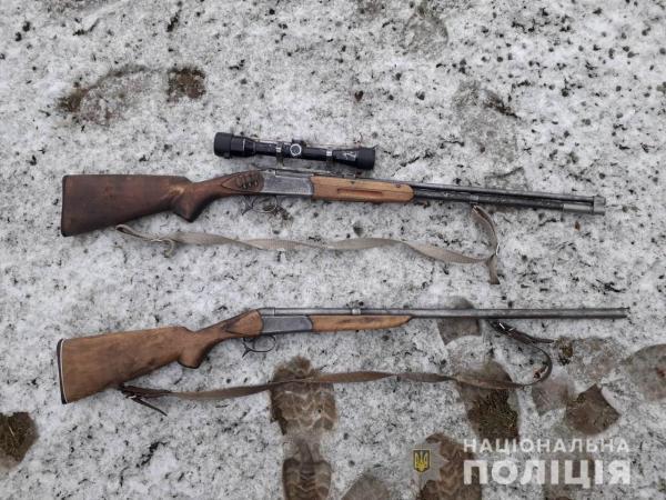 У закарпатця виявили вдома дві рушниці та патрони (ФОТО)